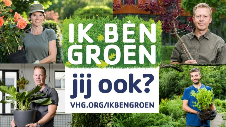 Koninklijke VHG | Wervingscampagne Ik ben groen!