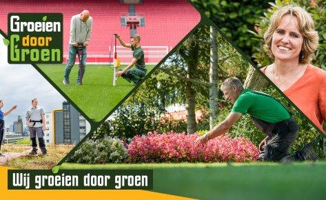 Sector Groen | Imago- wervingscampagne Groeien door Groen