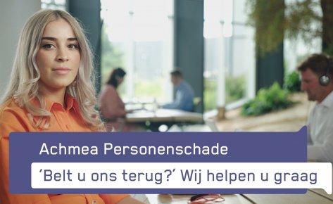 Achmea | Personenschade