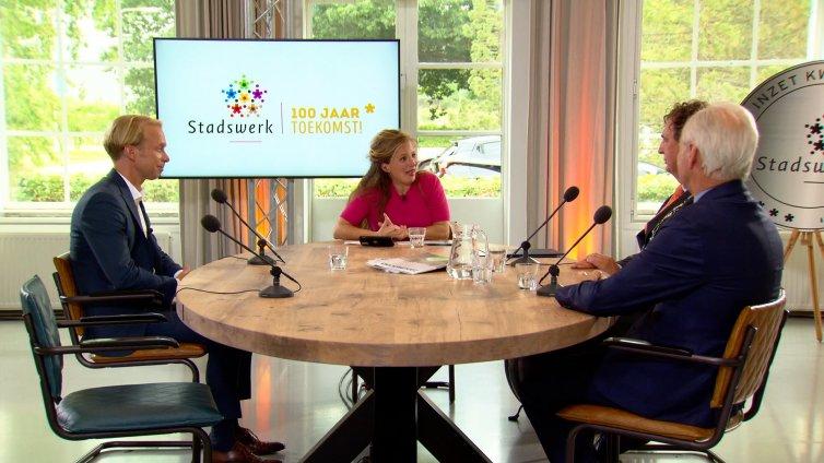 Koninklijke Vereniging Stadswerk | Toekomstland Talkshow